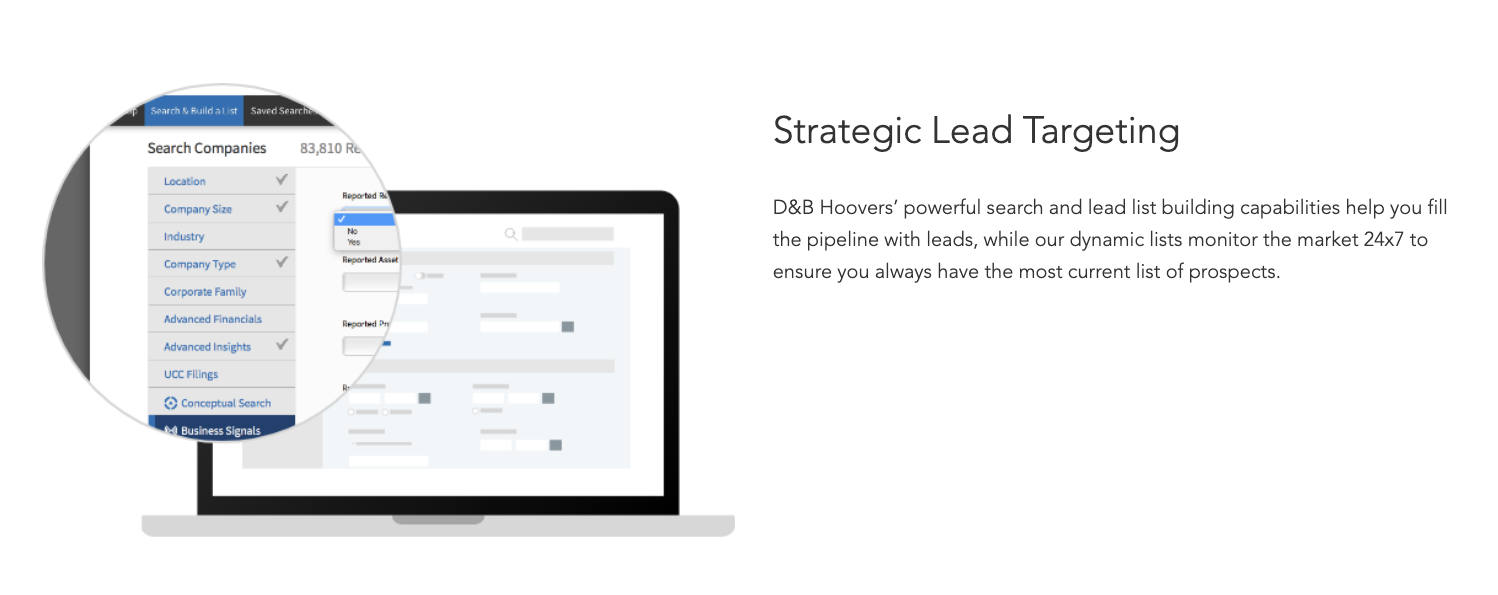 Hoover Strategic Lead Targeting