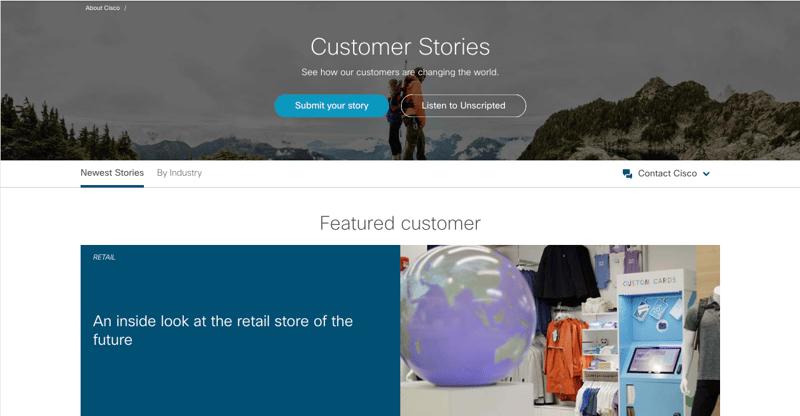 customer success stories cisco xzito
