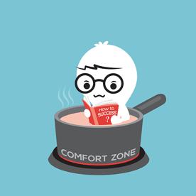 comfort zone contrarian marketing xzito rhode island