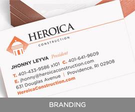 Heroicas Branding